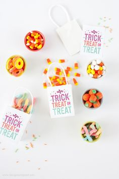 Free Downloadable Decor for Halloween - Petit & Small
