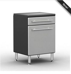 Ulti-MATE PRO 1-Door / 1 Drawer Base Cabinet - GA-03PC