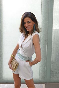summer look-simmer time-white-total white-jumpsuit-Rita Jones-outfit-outfit ideas-street style