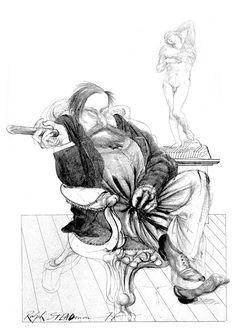 Ralph Steadman | Sigmund Freud
