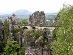 Bastei Bridge in Saxon Switzerland National Park. Photo: Gregory Holder