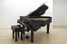 The piano is a tangible musical instrument. If you have the heart of a musician, you have to learn to play piano. You can learn to play piano through software and that's just what many busy individuals do nowadays. The piano can b Soft Sculpture, Sculptures, Piano Art, Baby Grand Pianos, Creative Textiles, Winston Salem, Art Techniques, Margarita, Contemporary Art