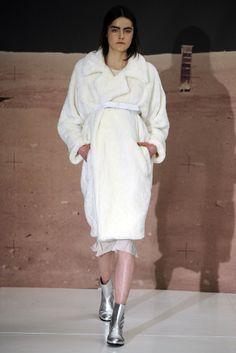 white robe coat - Organic by John Patrick RTW Fall 2014 via #WWD
