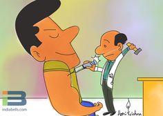 Body Builder Cartoon