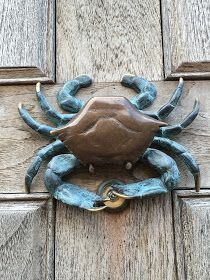 crab door knocker                                                                                                                                                                                 Mehr