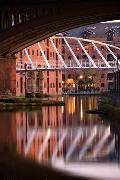 The Merchants Bridge in Castlefield.Manchester