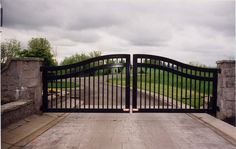 Keep your home secure! ornamental aluminum swing gate (503)760-7725