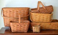 images of longaberger baskets | The Copycat Collector: COLLECTION #227: Longaberger Baskets