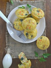 Pastelitos de verduras | Cuuking! Recetas de cocina Zucchini Muffins, Muffins Blueberry, Cranberry Muffins, Savory Muffins, Vegan Blueberry, Oven Recipes, Baby Food Recipes, Snack Recipes, Morning Glory Muffins