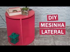 DIY - Mesinha de centro ou lateral para a sala de estar - Casinha Arrumada