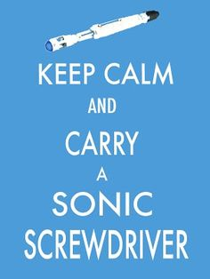 If I had one, it would go everywhere with me. But for now I carry a banana and claim the Doctor stole my Sonic Blaster.