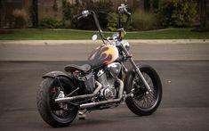 honda vlx 600 wallpaper - Pesquisa Google Honda Shadow Bobber, Honda Bobber, Bobber Bikes, Custom Bobber, Custom Motorcycles, Honda 1100, Honda Rebel 250, Bobbers, Biker
