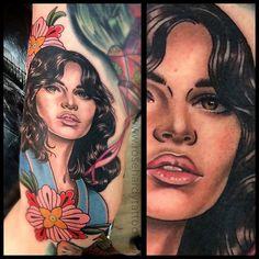 Tattoo by Rose Hardy Rose Hardy, Body Art, Ink, Color Portrait, Tattoos, Beautiful, Instagram, Tatuajes, Tattoo
