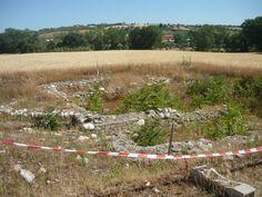 Scavi archeologici accanto alla chiesa di S: Maria a Vico