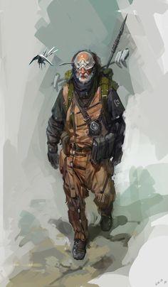 The hunting rifles of legendary hunters by Timur Mutsaev on ArtStation.