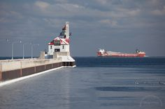 John Munson arriving Duluth 1/25/2013. Thanks to Dennis O'Hara of duluthharborcam.com for this photo