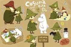Tags: Fanart, Pixiv, Moomin, Snufkin, Moomintroll, The Joxter, Little My