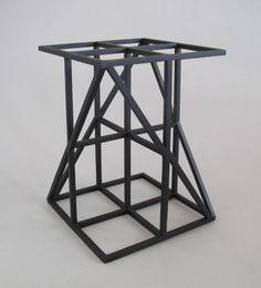 A Theory of Progress (Rodchenko) Abstract Sculpture, Sculpture Art, Fine Furniture, Furniture Design, Aleksandr Rodchenko, Black Spray Paint, Pixel, Geometry, Sculpture
