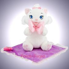 "Disney Parks Aristocats Marie Blanket Babies Baby Plush Doll Toy 10""  New"
