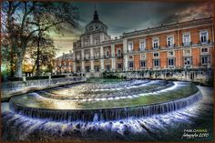 Palacio Real de Aranjuez. Madrid. España Oh The Places You'll Go, Places Ive Been, Iberian Peninsula, Palaces, Monuments, Roots, Spanish, To Go, Castle
