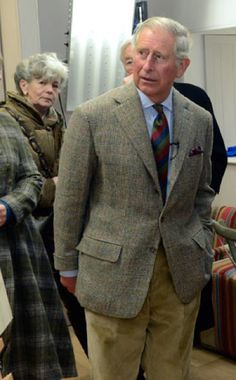 Rare Sighting: Prince Charles in a single-breasted jacket