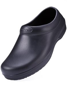 Slip Resistant Chef Shoes Black Non Slip Kitchen Work Clogs For Women -  CD1886KE979 c9310cc8b