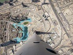 Vista desde el Burj Khalifa, Dubai
