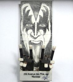 Mike Bell matches - Kiss