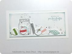 Zauberhafte Grüße Jenni Pauli Weihnachtskarte Stampin'Up!