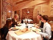 Good food, good company and great cheese are Avoriaz's specialities.