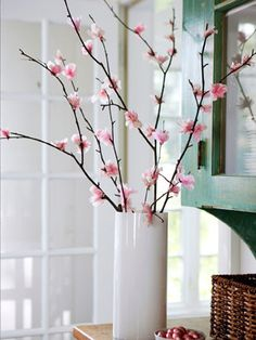 These DIY tissue paper cherry blossoms will last all year long!