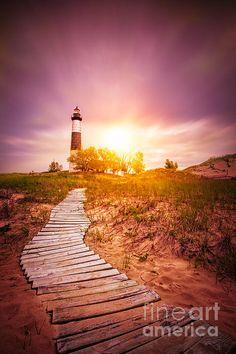Sunrise at Big Sable Lighthouse