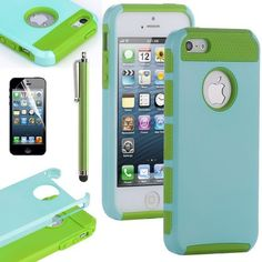 Pandamimi ULAK(TM) Aqua Blue & Green Fashion Sweety Girls TPU + PC 2-Piece Style Soft Hard Case Cover for iPhone 5 5G with Free Screen Protector and Stylus by ULAK, http://www.amazon.com/dp/B00CM3K9VS/ref=cm_sw_r_pi_dp_yj2Hrb1TNN1GC