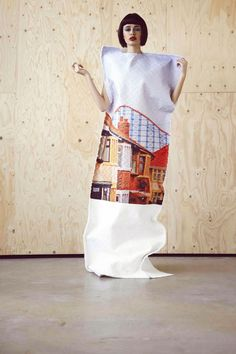 Carrie-Ann Stein tricote l'image. | COLLECTIF TEXTILE