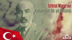 İstiklal Marşı'mızın Kabulünün 94.Yılını kutluyor, Mehmet Akif Ersoy'u saygı ve rahmetle anıyoruz...