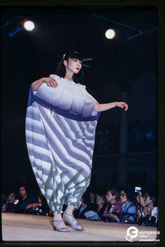 Fashion show Issey Miyake spring/summer 1978