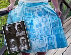 DIY Clothes DIY Refashion  DIY Turn Your Photos Into a Dress, Pillow Cases