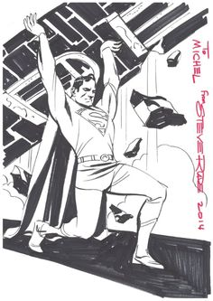 Superman by Steve Rude
