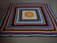 Crochet Stitch Sampler Afghan