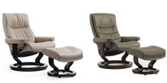 Stressless Nordic and Stressless Crown