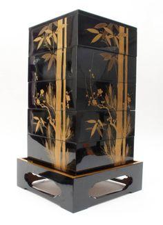 Japanese lacquer box at 1stdibs
