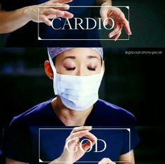 So unhappy that there shall be no extra Cristina yang in Greys after this season! Cristina Yang, Greys Anatomy Memes, Grey Anatomy Quotes, Grays Anatomy, Cardio, Medical Wallpaper, Dark And Twisty, Sandra Oh, Fangirl