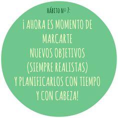 HÁBITO Nº7 Motivation, Live, Healthy, Food, Health, Inspiration