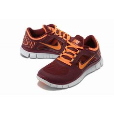 a4981f1e26fb Our Nike Free Run 3 Mens Wine Red Orange Running Shoes is welcomed by our  customers.Our Nike store is engaged in selling cheap Nike shoes.