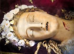 """This is wax covering a skeleton ~Morbid Anatomy: """"The Macabre and Little Known Sight of Saint Victoria of Rome"""" : A Mystery Revealed, Thanks to the BBC"""