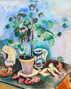Henri Matisse - Fauvisme - Still Life Henri Matisse, Matisse Kunst, Matisse Art, Art Fauvisme, Fauvism Art, Matisse Paintings, Picasso Paintings, Raoul Dufy, Post Impressionism