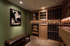 Design Build Wine Cellar in West Lafayette, Indiana