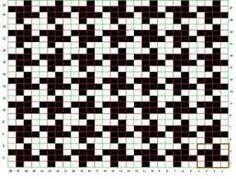Bildergebnis für houndstooth scarf pattern knit