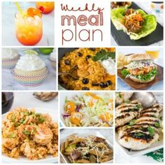 Weekly Meal Plan Week 201 - Dinners, Dishes, and Desserts Side Dishes Easy, Side Dish Recipes, Asian Recipes, Rotisserie Chicken Salad, Asian Chicken Salads, Easy Pasta Recipes, Pasta Salad Recipes, Ramen Recipes, Punch Recipes