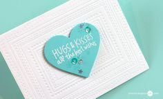 Jennifer McGuire   CRAFTING ON THE GO + GIVEAWAY   hugs and kisses